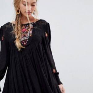 Free People Dresses - Free People Mohave Floral Embroidered Dress S